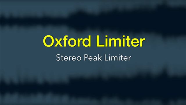 OXFORD LIMITER NATIVE TÉLÉCHARGER