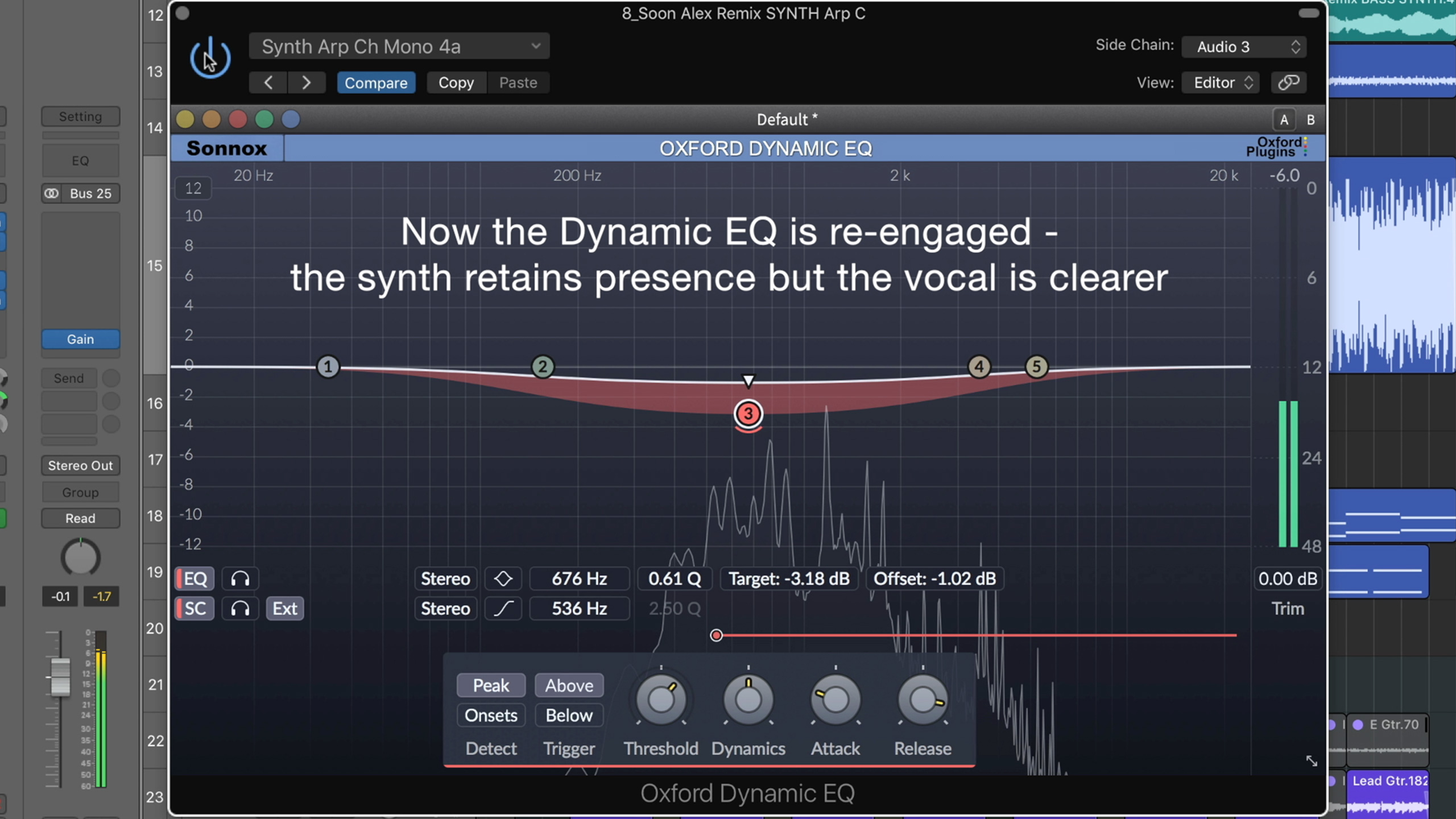 Sonnox | Oxford Dynamic EQ